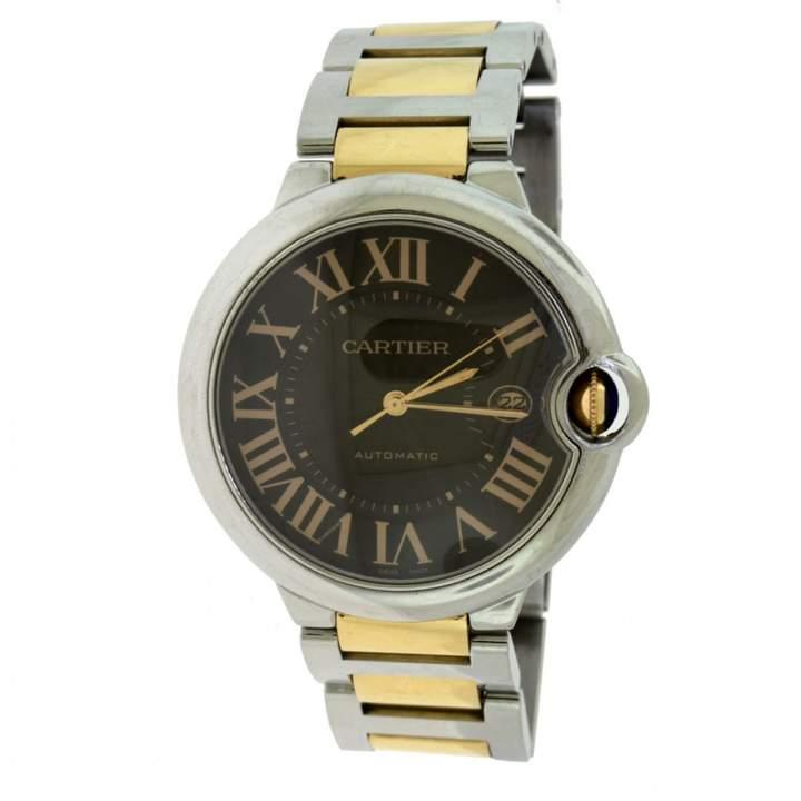 Cartier Ballon bleu Black gold and steel Watches