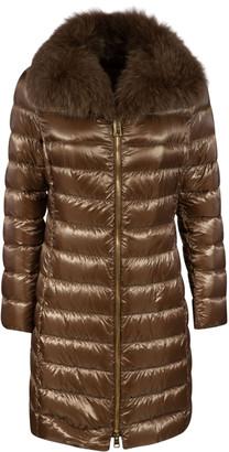 Herno Padded Fur Detail Coat