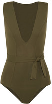 Eres Magic Swimsuit - Army green