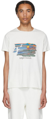 Remi Relief Off-White Mountains T-Shirt