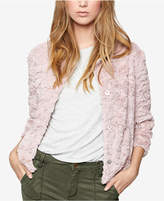 Sanctuary Faux-Fur Sequin Jacket