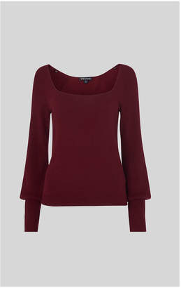 Whistles Square Neck Knit