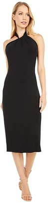 Cushnie Sleeveless Pencil Dress (Black) Women's Clothing