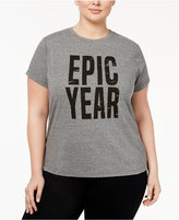 Rachel Roy Trendy Plus Size Epic Year Graphic T-Shirt