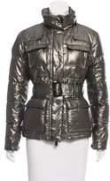 Etro Metallic Down Coat