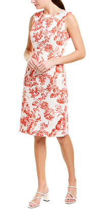 Oscar de la Renta Sheath Dress