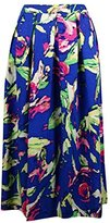 Shoshanna Women's Jackie Painterly Floral Flared Skirt