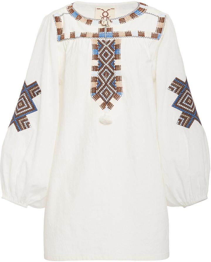 Figue Nara Cotton V-Neck Tunic