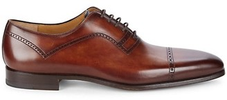 Magnanni Hogan Leather Cap Toe Oxfords