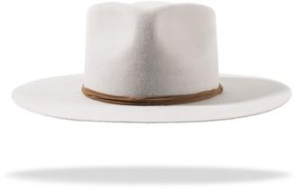 P'ook By Arlop Felt Wool Morgan Hat - Grey