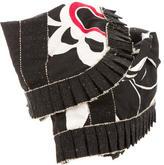 Moschino Printed Waist Corset Belt