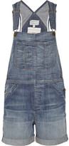 The Shortall stretch-denim overalls