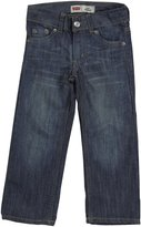 Levi's 514 Straight Fit Jeans (Toddler/Kid) - Stow Away-5R
