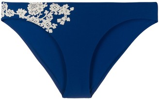 Carine Gilson Lace Applique Swim Bottom