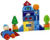Haba Habatown 25-pc. Colorful Wooden Blocks Set
