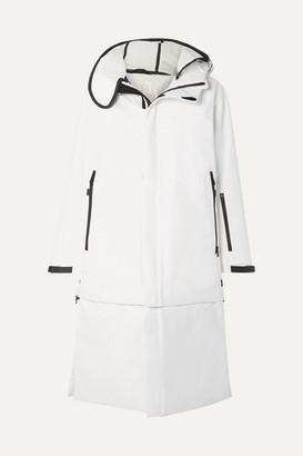TEMPLA 3l Tombra Convertible Hooded Cotton-blend Ski Coat - White