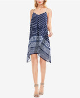 Vince Camuto TWO by Handkerhchief-Hem Shift Dress