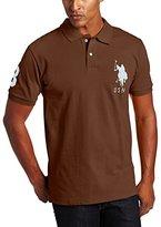 U.S. Polo Assn. Men's Solid Short-Sleeve Pique Polo Shirt