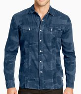 William Rast Camo Print Long-Sleeve Shirt