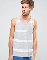 Selected Bold Stripe Tank