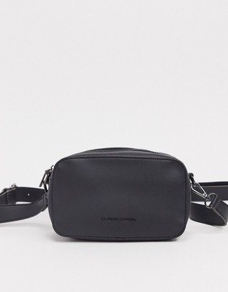 Claudia Canova cross body camera bag in black