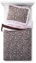 Pam Grace Creations Zara Zebra Comforter Set Twin Multicolor ;