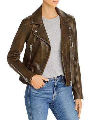 Rag & Bone Mack Leather Biker Jacket