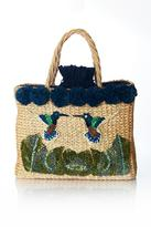 Serpui Marie July Hummingbird Basket