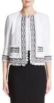 St. John Women's Fringe Clair Knit Jacket