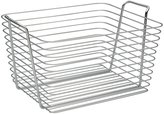 InterDesign Classico Wire Storage Organizer Basket for Bathroom, Bath Towels, Heath and Beauty Products