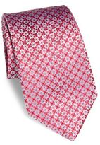 Charvet Abstract Star Silk Tie