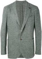 Lardini classic blazer - men - Silk/Linen/Flax/Cupro/Wool - 50
