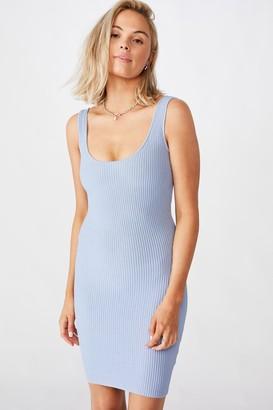 Supre Maggie Square Neck Knit Dress