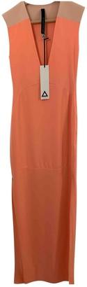 Aq/Aq Aqaq Orange Cotton - elasthane Dress for Women