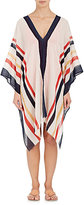 Eres Women's Cruise Striped Gauze Poncho