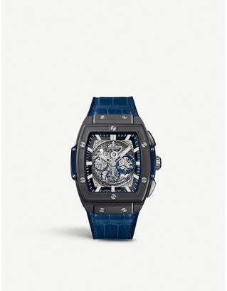 Hublot 601.CI.7170.LR Spirit of Big Bang alligator-leather watch