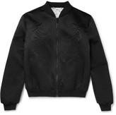 Alexander McQueen Quilted Silk Souvenir Jacket