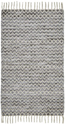 """Seventh Studio Knitted Chevron 27""""x 45"""" Accent Rug Bedding"""