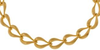 """Arte D'oro Arte d'Oro 19"""" Teardrop Shaped Link Necklace, 18K, 41.70g"""