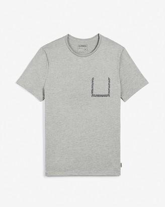 Express Cotton Crew Neck Pocket T-Shirt