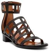 Aquatalia Rianna Caged Leather Sandal