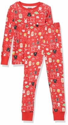 Amazon Essentials Disney Marvel Snug-Fit Cotton Pajamas Sleepwear Sets