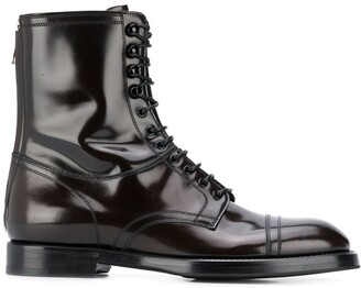 Dolce & Gabbana Michelangelo lace-up boots