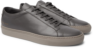 Common Projects Original Achilles Saffiano Leather Sneakers
