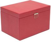 Wolf Palermo Large Jewelry Box, Coral