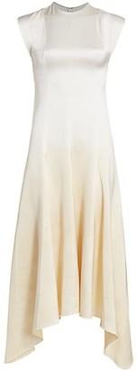 Alejandra Alonso Rojas Dip-Dye Silk Midi Dress