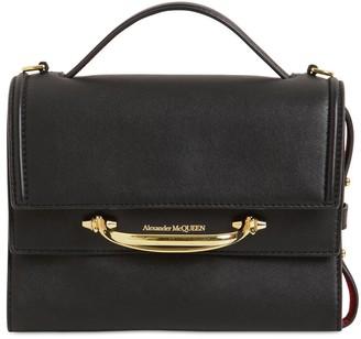 Alexander McQueen The Story Bicolor Leather Shoulder Bag