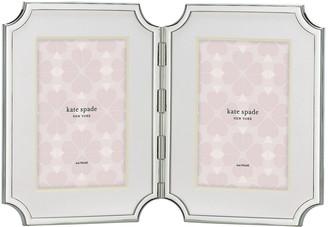 Kate Spade Sullivan Street Double Picture Frame, Silver