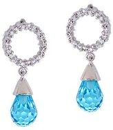 Seshma Bridesmaid C.Z. Diamond Dangling Briolette Earrings [Jewelry]