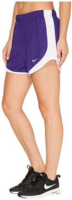 Nike Dry Tempo Short (Black/Black/White/Wolf Grey) Women's Shorts